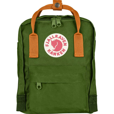 Fjallraven Kanken Mini Backpack | Leaf Green/Burnt Orange F23561-615-212