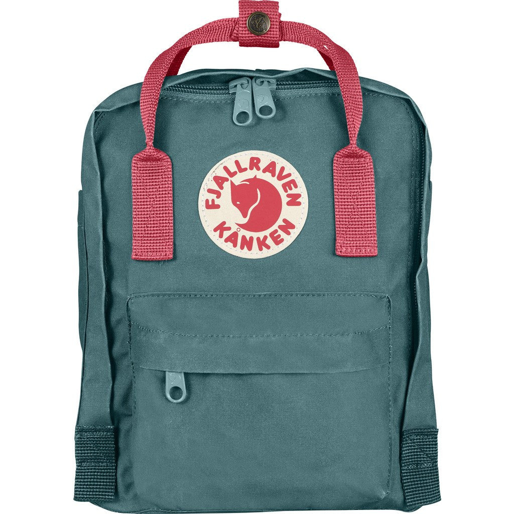 Fjallraven Kanken Mini Backpack | Frost Green/Peach Pink F23561-664-319