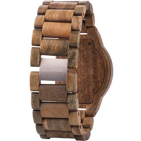 WeWood Men's Kappa Guaiaco Wood Watch | Brown
