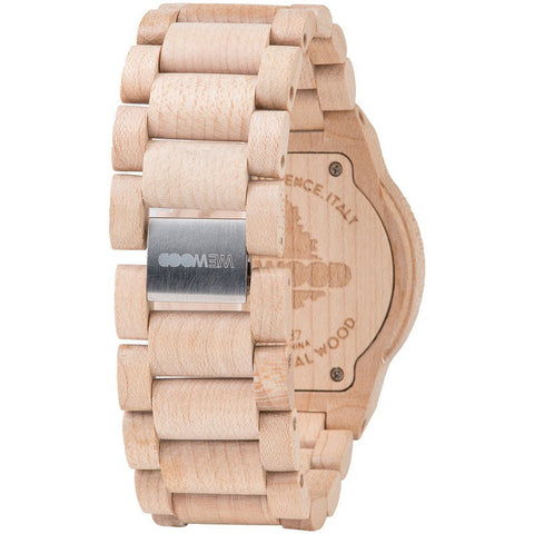 WeWood Kappa Maple Wood Watch | Beige/Amaranto