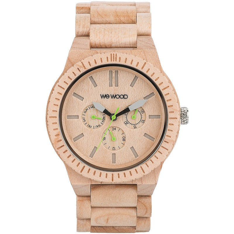 WeWood Kappa Scratch Proof Wood Watch | Beige