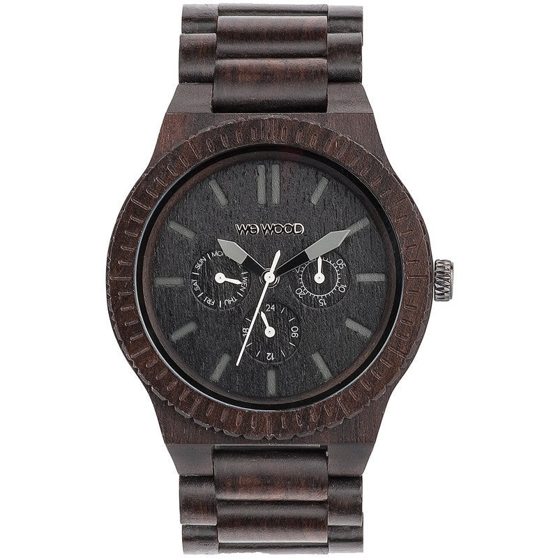 WeWood Kappa Blackwood Wood Watch | Black