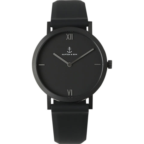 Kapten & Son Pure Nox Watch | Black