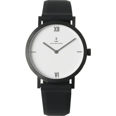 Kapten & Son Pure Lux Watch | White
