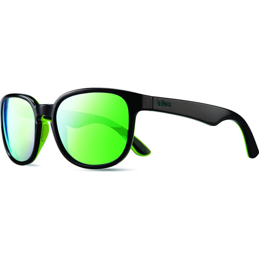 Revo Eyewear Kash Black/Green/Blue Sunglasses | Green Water RE 1028 01 GN