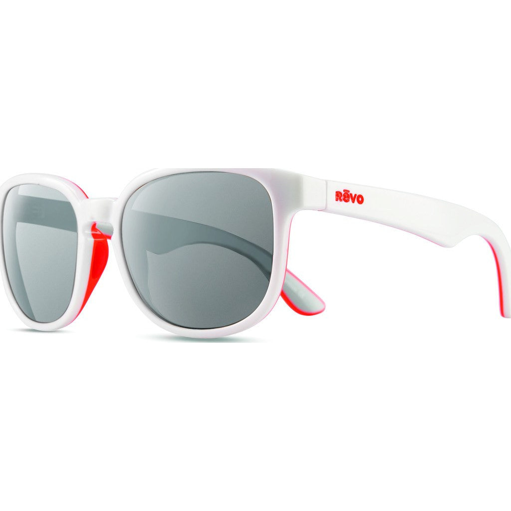 Revo Eyewear Kash White/Coral/Grey Sunglasses | Graphite RE 1028 09 GY