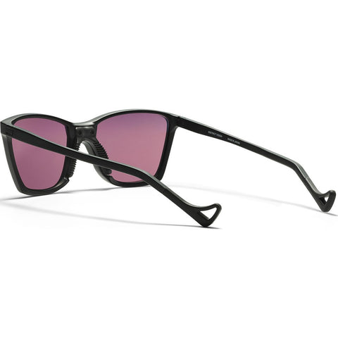 District Vision Keiichi SmallÊBlackÊSunglasses |ÊDistrict Black Rose