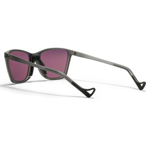 District Vision Keiichi SmallÊGrayÊSunglasses |ÊDistrict Black Rose