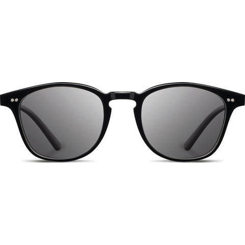 Shwood Kennedy Acetate Sunglasses | Black - Grey WAK2BG