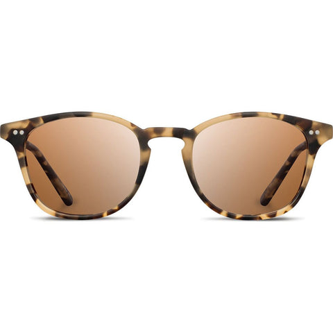 Shwood Kennedy Acetate Sunglasses | Matte Havana - Brown Polarized WAK2MHBP