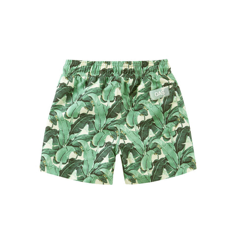 Oas Kids Banana Leaf Swim Shorts
