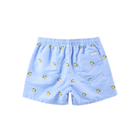 Oas Kids Blue Lemon Swim Shorts