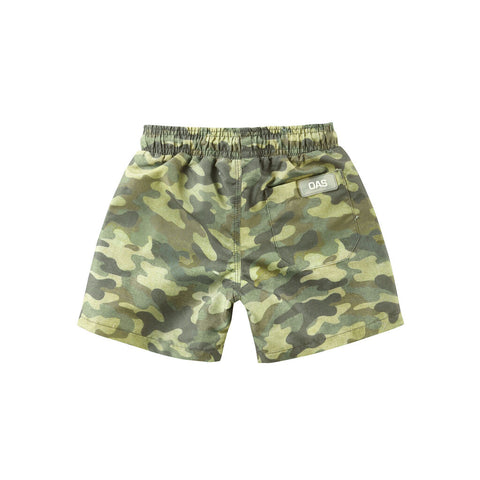 Oas Kids Cammo Swim Shorts