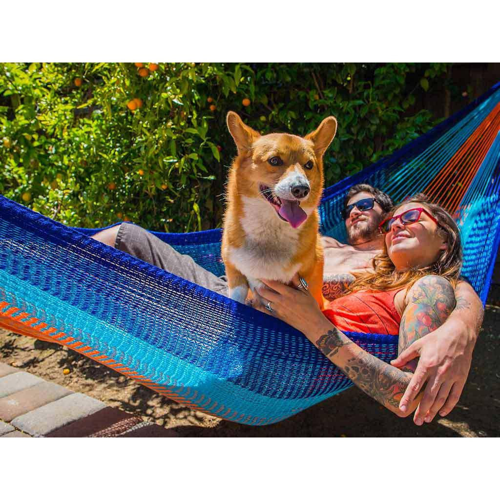 Yellow Leaf Classic Double Hammock | Kilauea YL-CD-KI