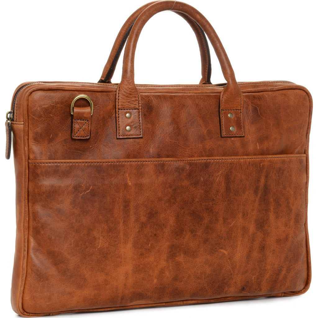 ONA Kingston Leather Briefcase | Antique Cognac