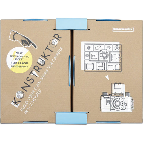 Lomography Konstruktor Flash SLR DIY Camera Kit | Black hp150slr