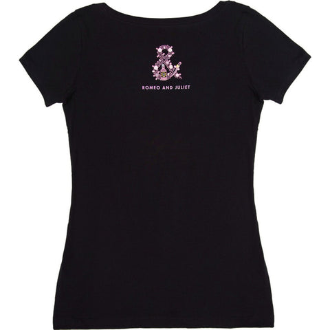 Out of Print Romeo and Juliet Women's T-Shirt | Black L-1201