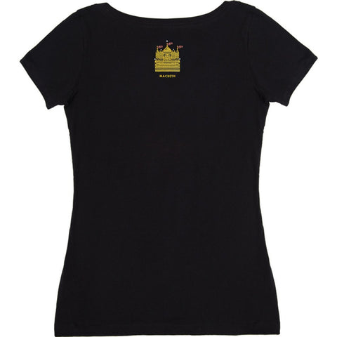 Out of Print Macbeth Women's T-Shirt | Black L-1202