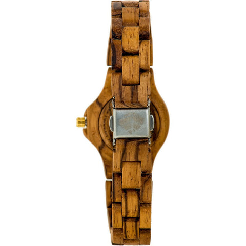 Tense Small Northwest Watch | Zebrawood L4300Z-BG