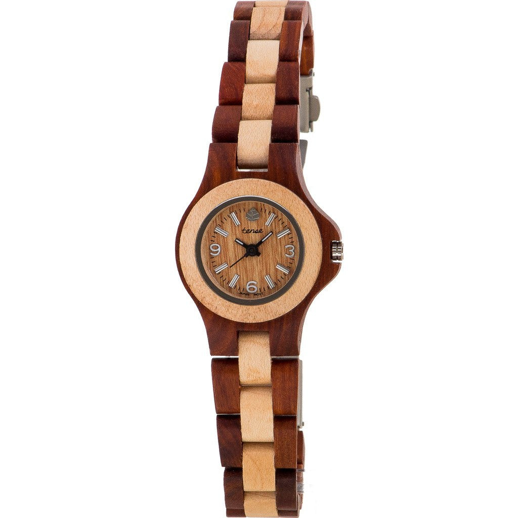 Tense Mini Northwest Women's Watch | African Rosewood/Maple L4300RM