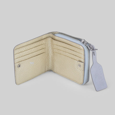 The Horse Mini Block Wallet | Powder Blue L4