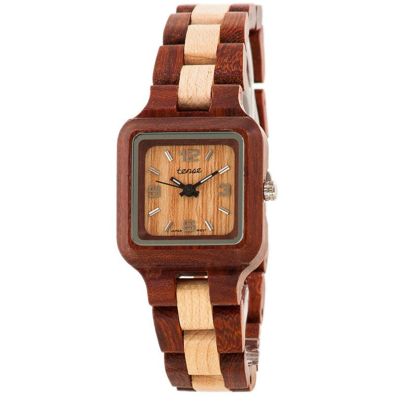 Tense Mini Summit Adventure Women's Watch Sandalwood/Maple | L7305SM