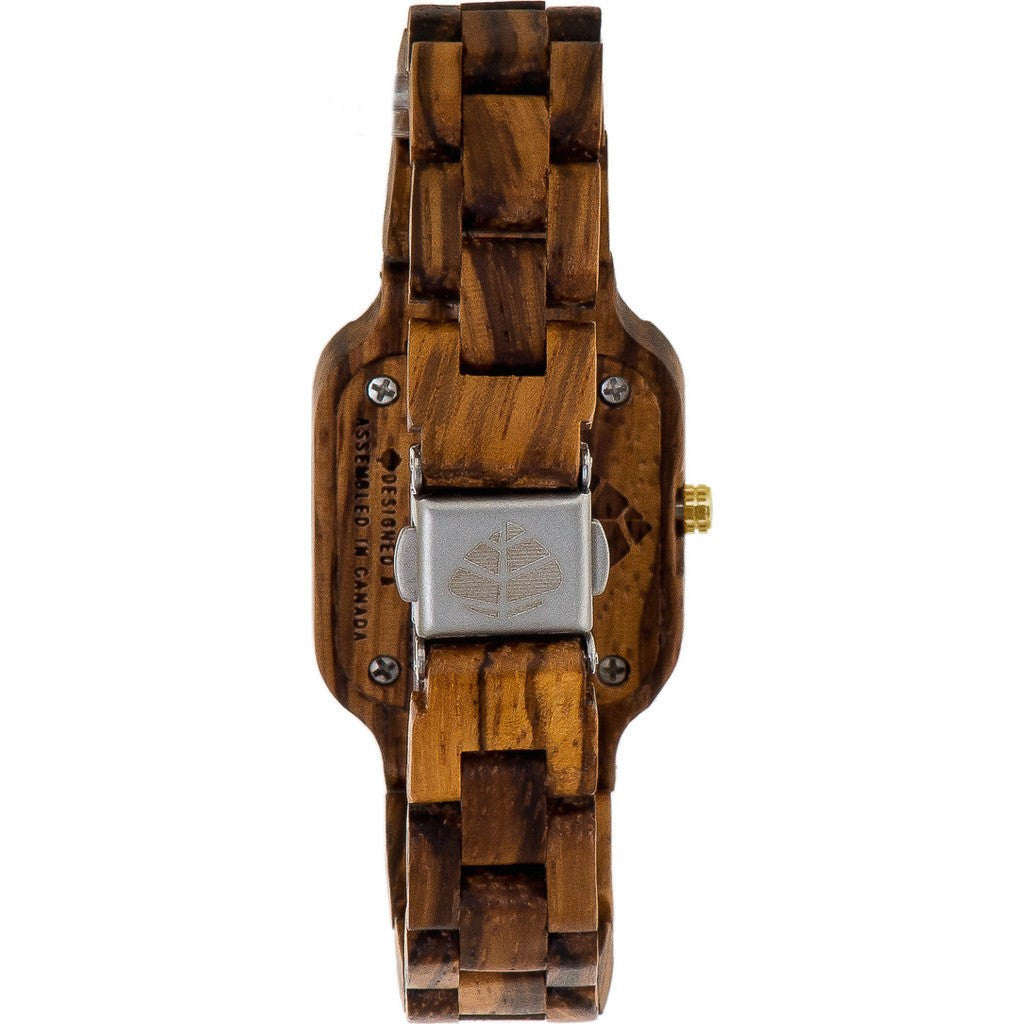 Tense Small Summit Watch | Zebrawood L7305Z-BG