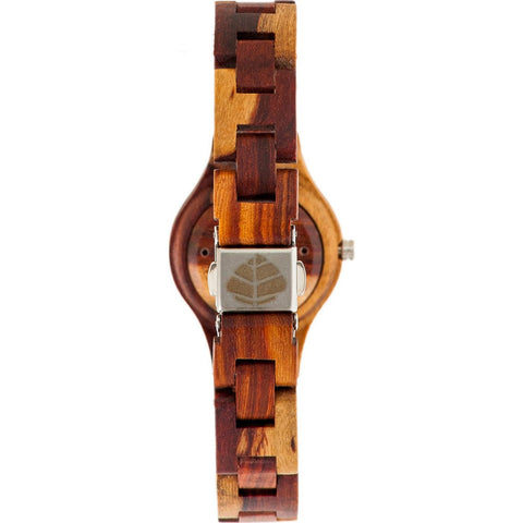 Tense Small Pacific Watch | Dual Tone Sandalwood/Rosewood L7509I-WG
