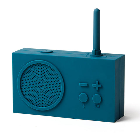 Lexon Tykho 3 Fm Radio & Bluetooth Speaker | Blue