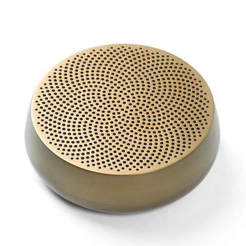Lexon Mino L Portable Bluetooth Speaker | Gold