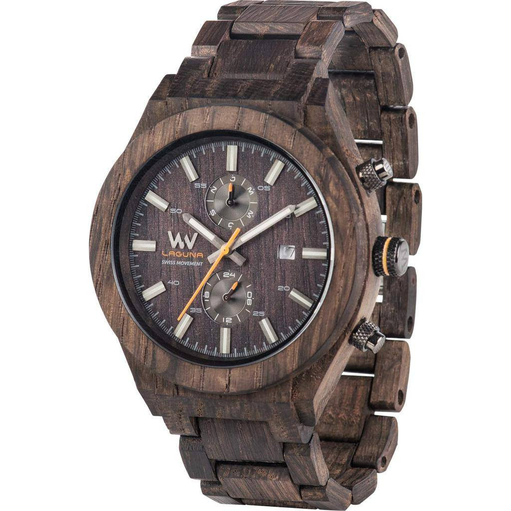 WeWood Laguna Noce Rosewood Wood Watch | Chocolate