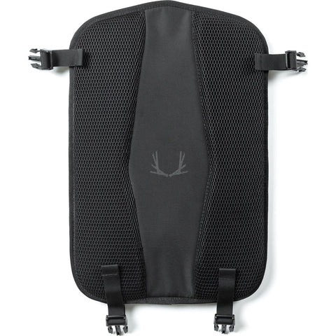 Black Ember Fold-Out Laptop Sleeve | Jet Black