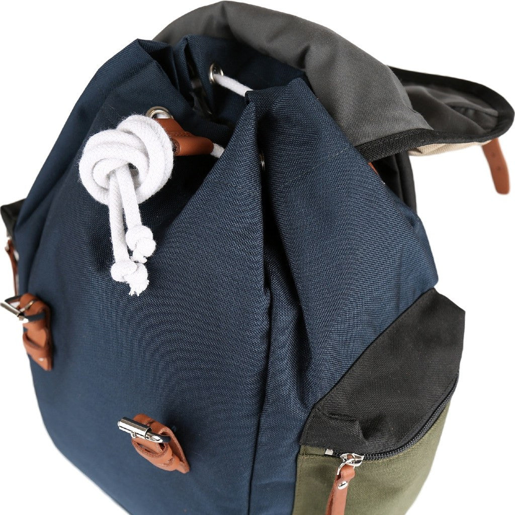 Sandqvist Lars-Goran Backpack | Multi Blue/Black