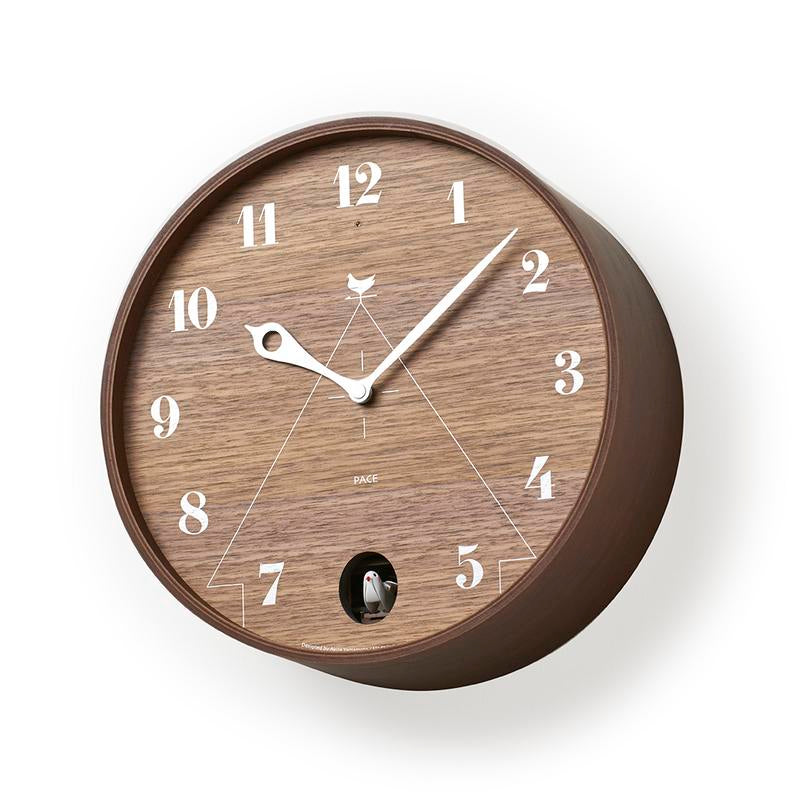 Lemnos Pace Clock | Brown
