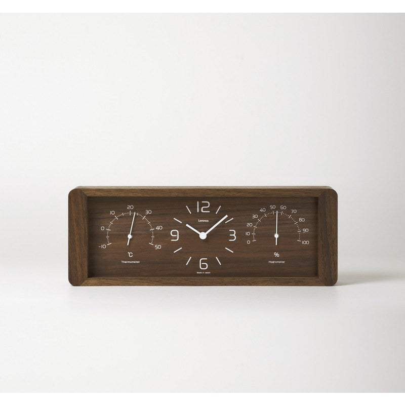 Lemnos Yokan Clock | Brown