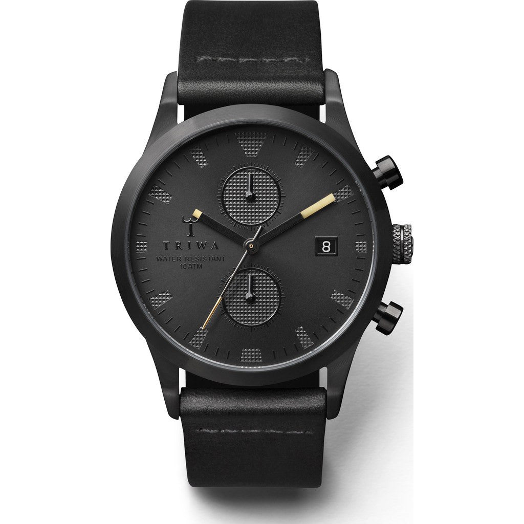 Triwa Sort of Black Chrono Watch | Black Classic LCST105CL010113