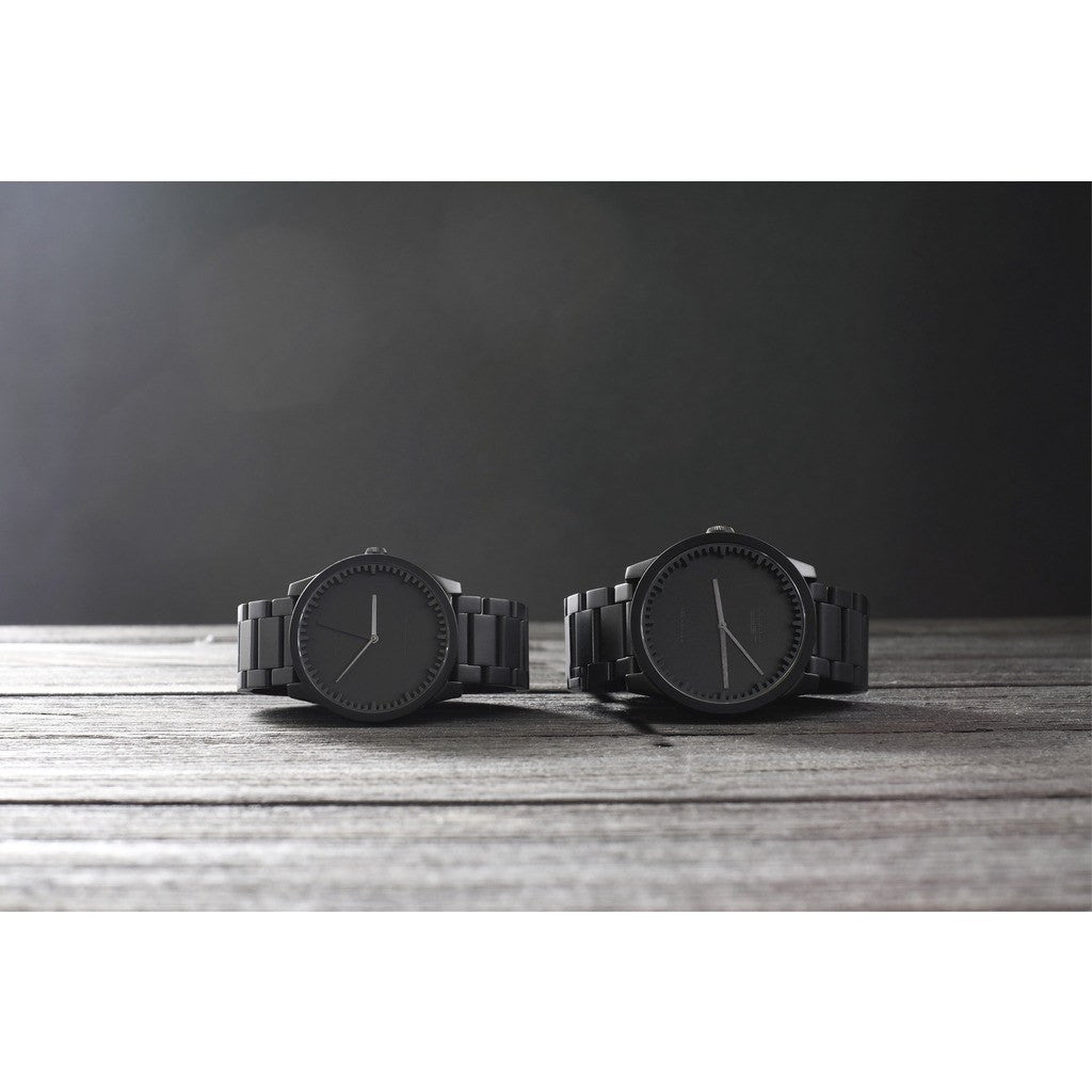 LEFF Amsterdam S38 Tube Watch | Black LT71104