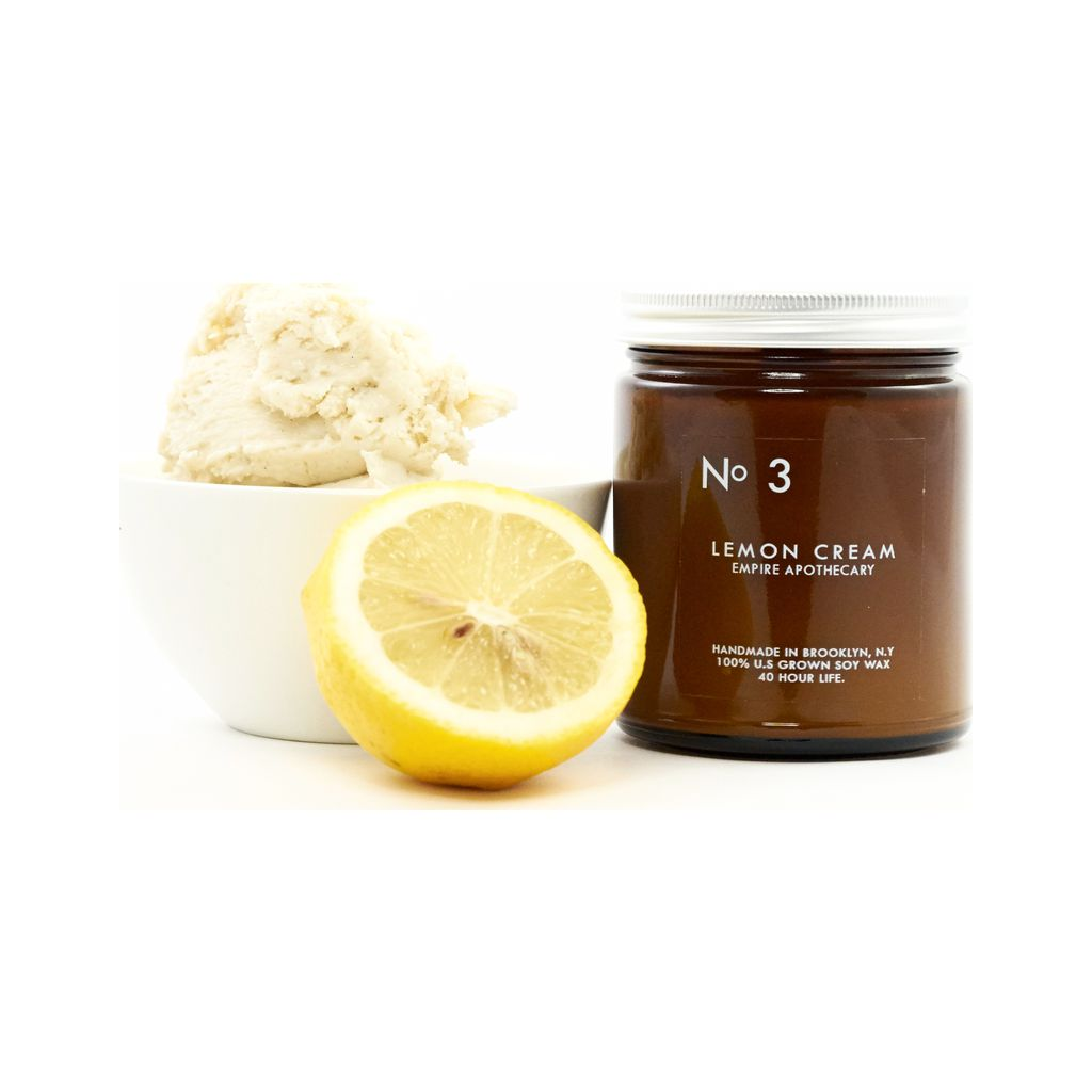 Empire Apothecary No. 3 Candle | Lemon Cream EMPIRE10