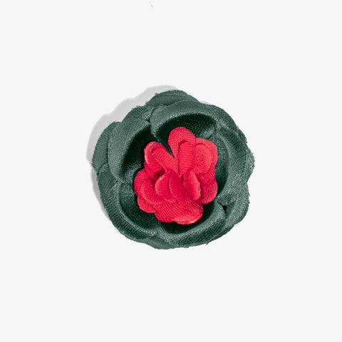 Hook & Albert Lapel Flower Pin | Small Nepal LFBSS18F-BLPK-OS