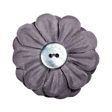 Hook & Albert Large Lapel Flower | Gray LFSDF-GRY-OS
