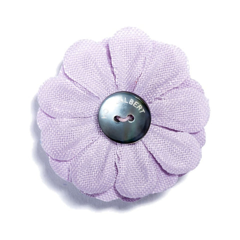 Hook & Albert Large Lapel Flower | Purple LFSDF-LNDR-OS