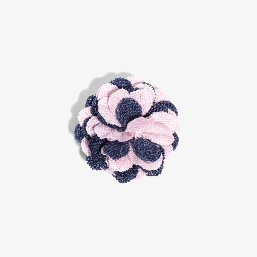 Hook & Albert Lapel Flower Pin | Small Oxide Pink LFSPD18F-PKBL-OS