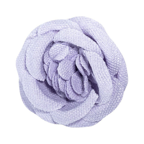 Hook & Albert Rainier Small Lapel Flower | Purple