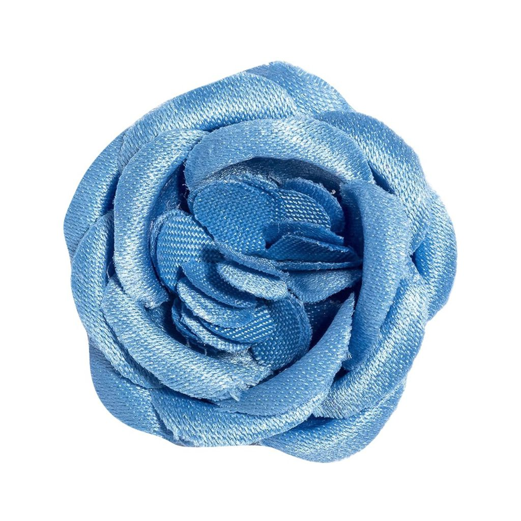 Hook & Albert Heels Lapel Flower | Blue LFSRS17F-BLU-OS