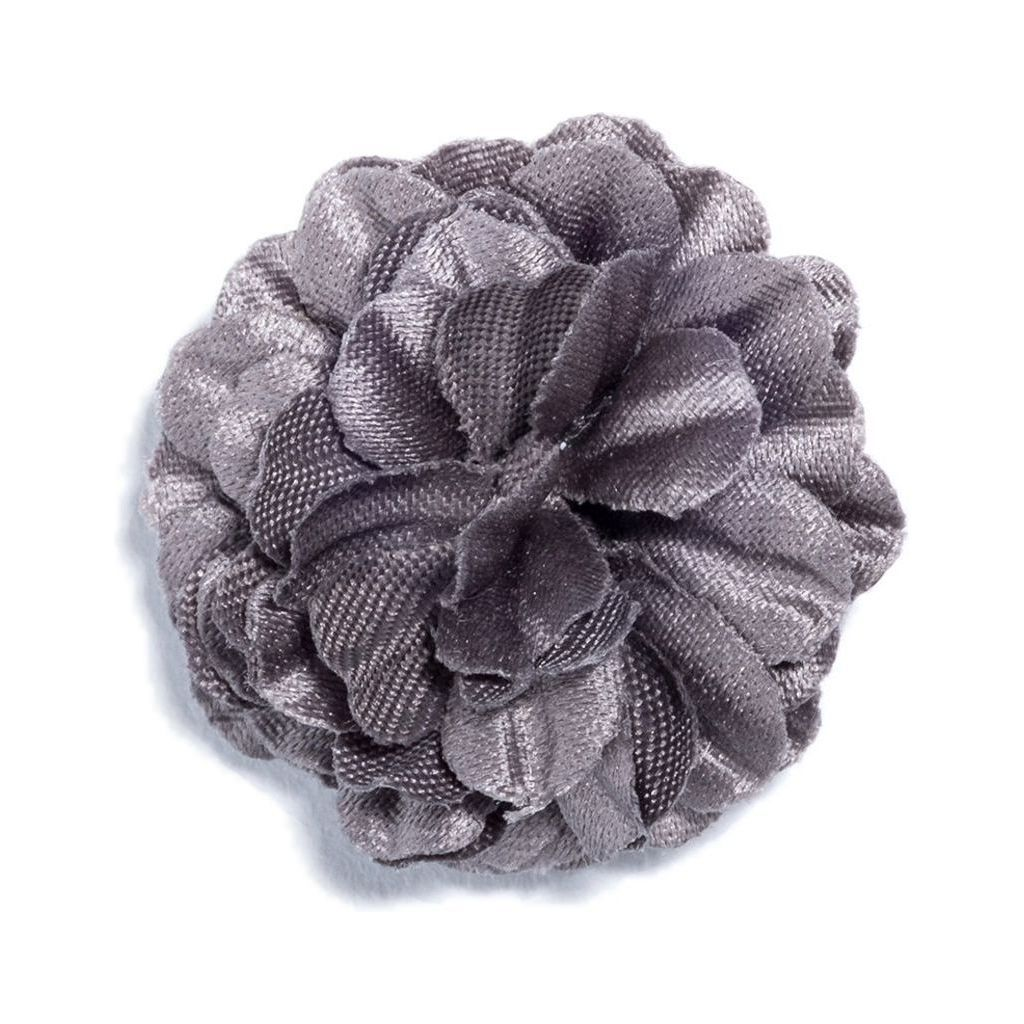 Hook & Albert Small Lapel Flower | Gray LFSSD-GRY-OS
