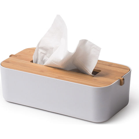 Lexon Zen Tissue Box | White