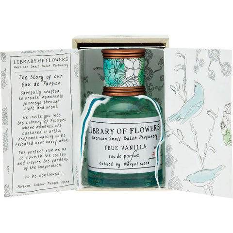 Library of Flowers Eau De Parfum | True Vanilla 17C4