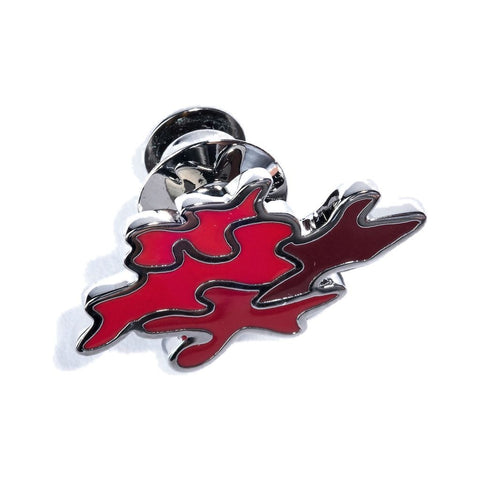 Hook & Albert Camo Lapel Pin | Red LPCMO-RED-OS