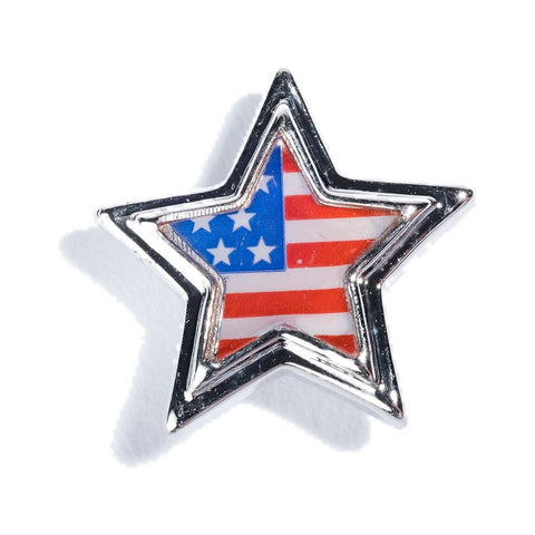 Hook & Albert USA Star Pin | Silver LPSTR-USA-PIN