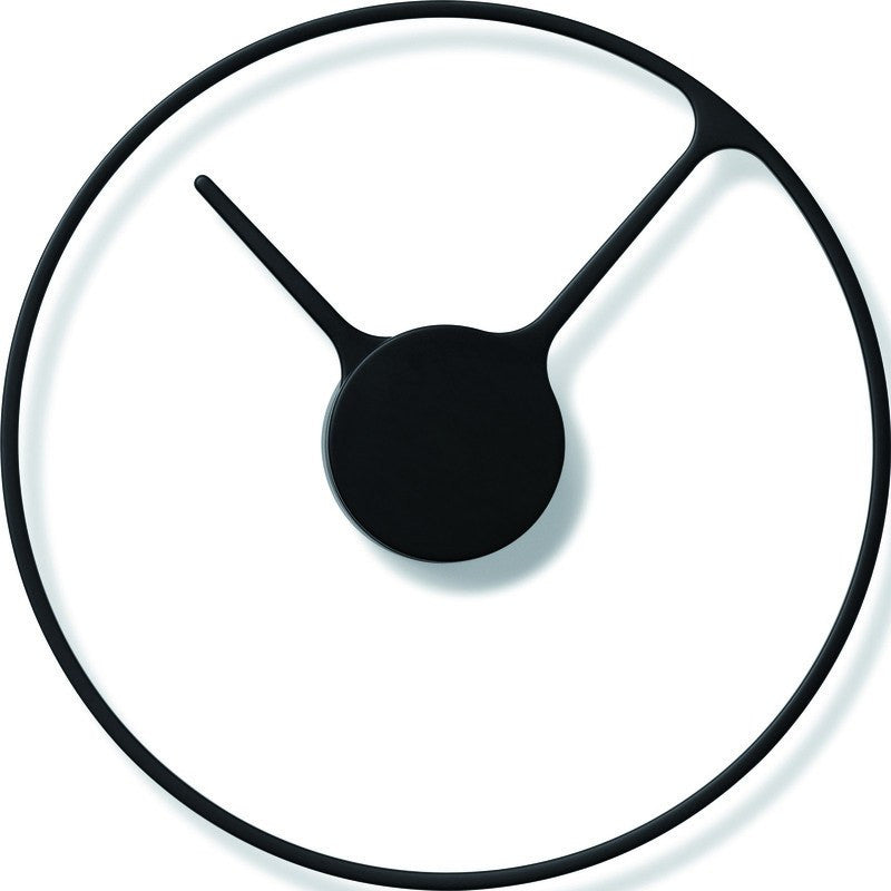 Stelton Time 30cm Wall Clock | Large Black 851